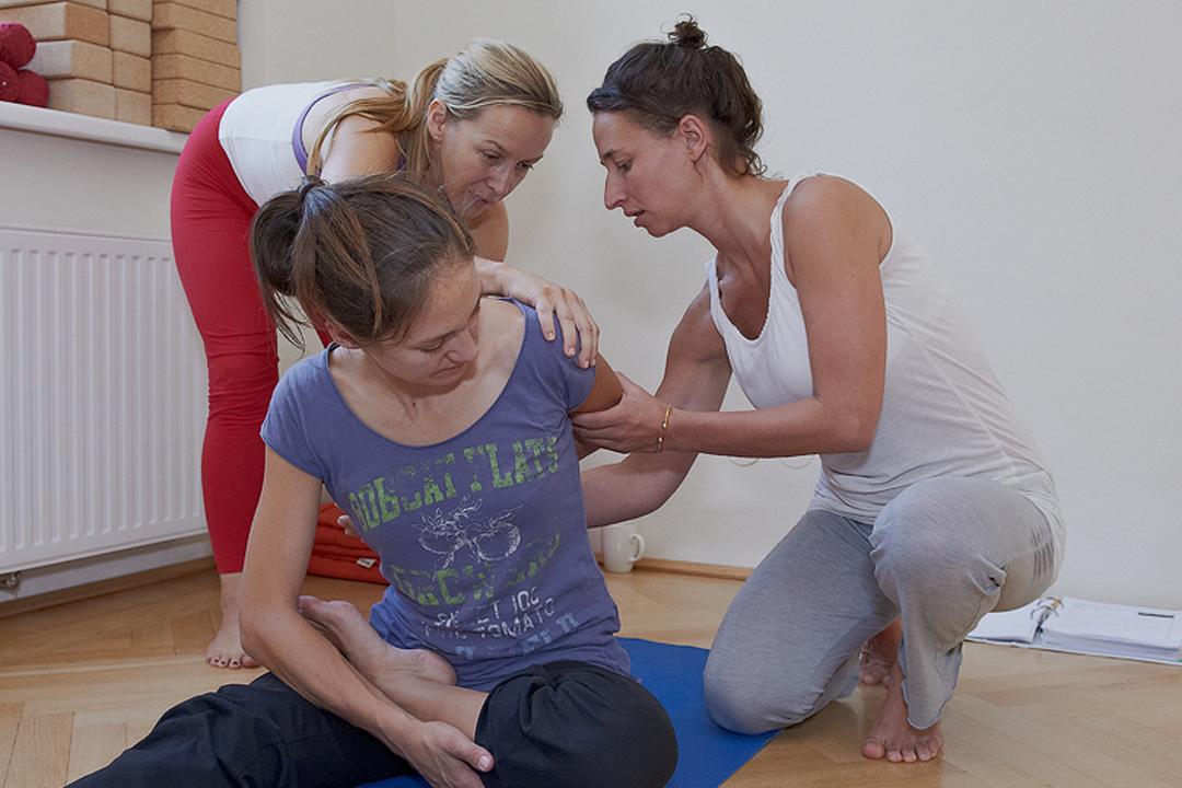 Yoga Anatomie Workshop mit Margit