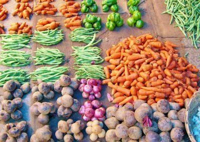 Mysore-Markt-Gemuese