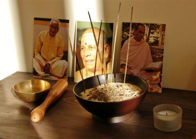 Puja-Tisch