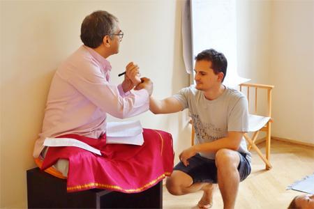 A workshop on Practice, Pranayama and Patanjali Yoga Sutras