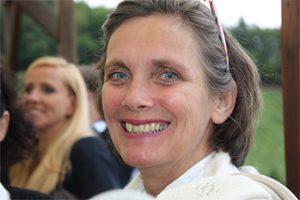 Yogalehrerin Claudia Bernheimer