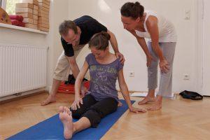Yoga-Unterricht mit Horst Rinnerberger