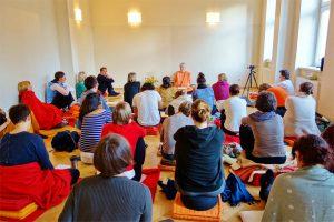 Workshop mit Swami im Wiener Yogazentrum PUREYOGA