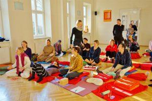 Yoga Workshop im Wiener Yogazentrum PUREYOGA
