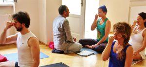 Pranayama und Patanjali Yoga Sutras mit Sri Sudhir Tiwari