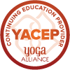 Yoga Alliance Continuing education provider Logo