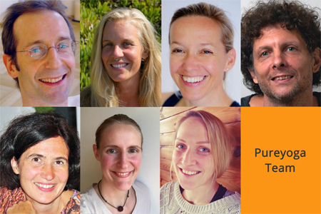 unser Online Yoga Klassen Team