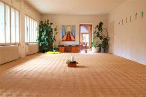 Sonnenhof Yoga Urlaub Übungsraum
